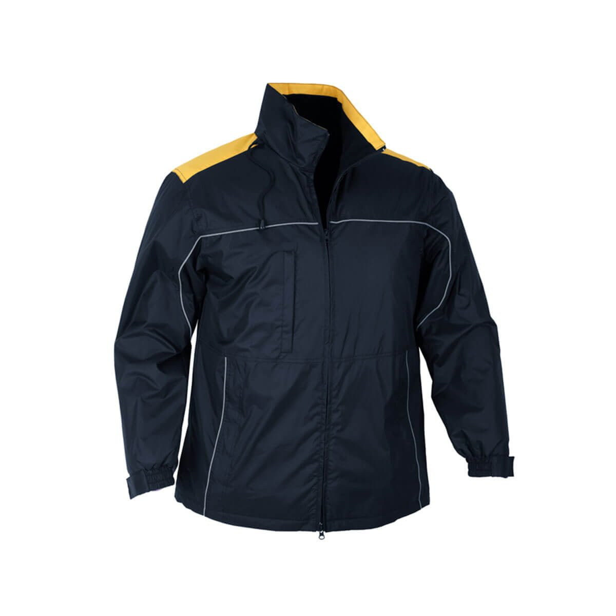 Mens Reactor Jacket-Navy / Gold