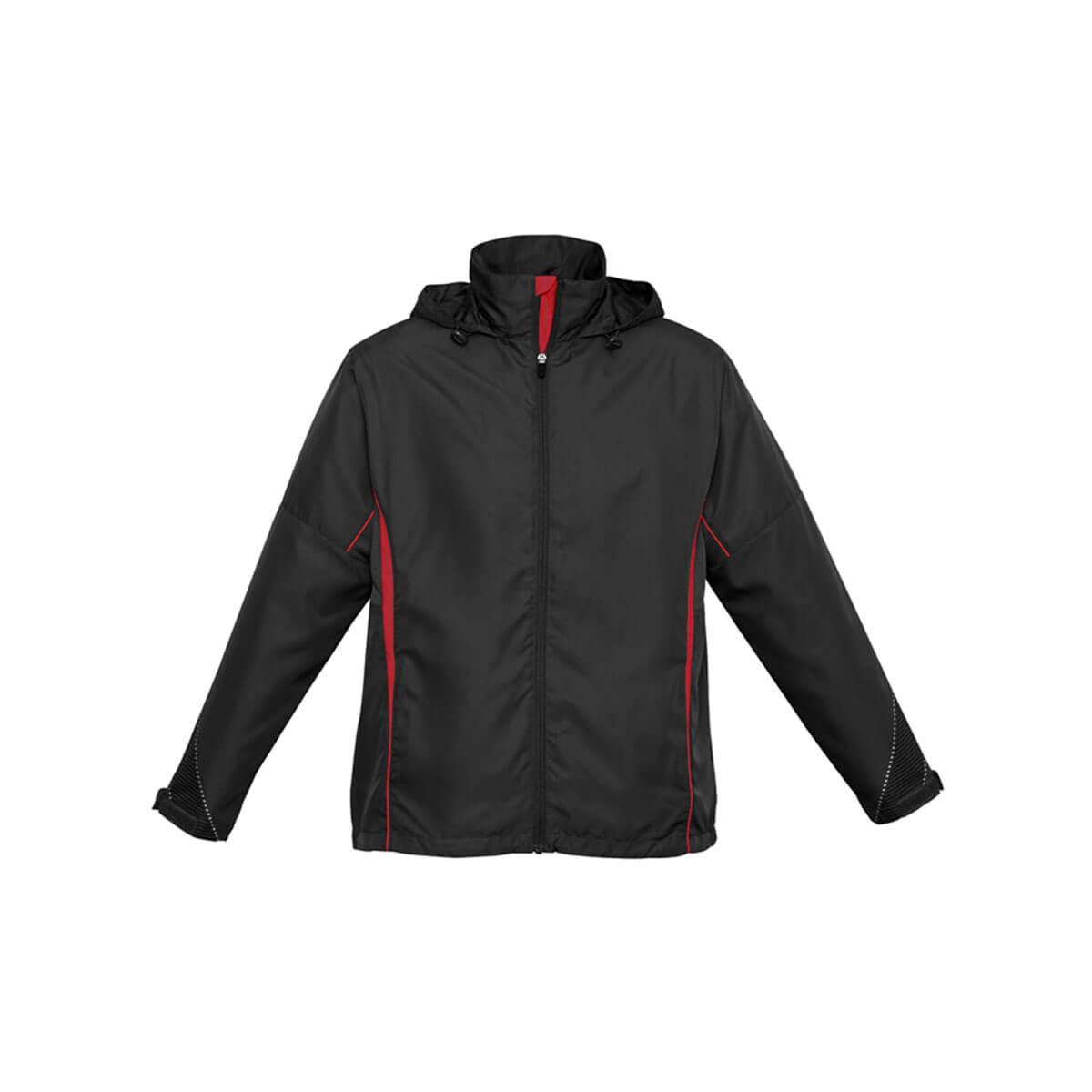 Adults Razor Team Jacket-Black / Red