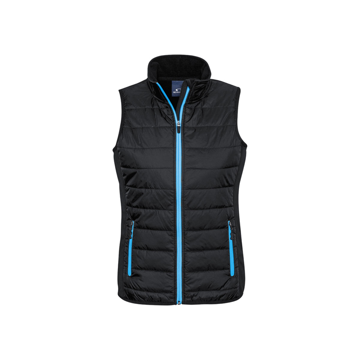 Ladies Stealth Tech Vest-Black / Cyan