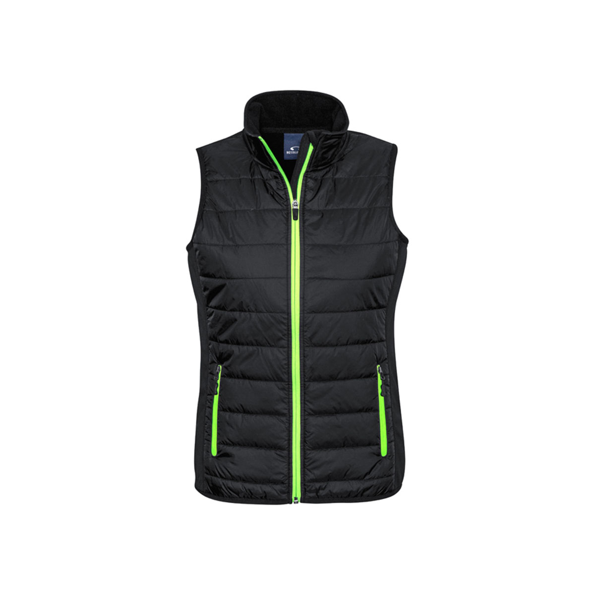 Ladies Stealth Tech Vest-Black / Lime