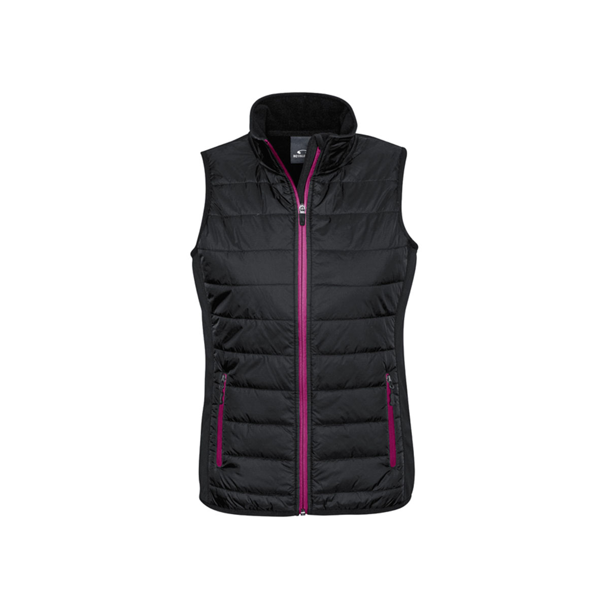 Ladies Stealth Tech Vest-Black / Magenta