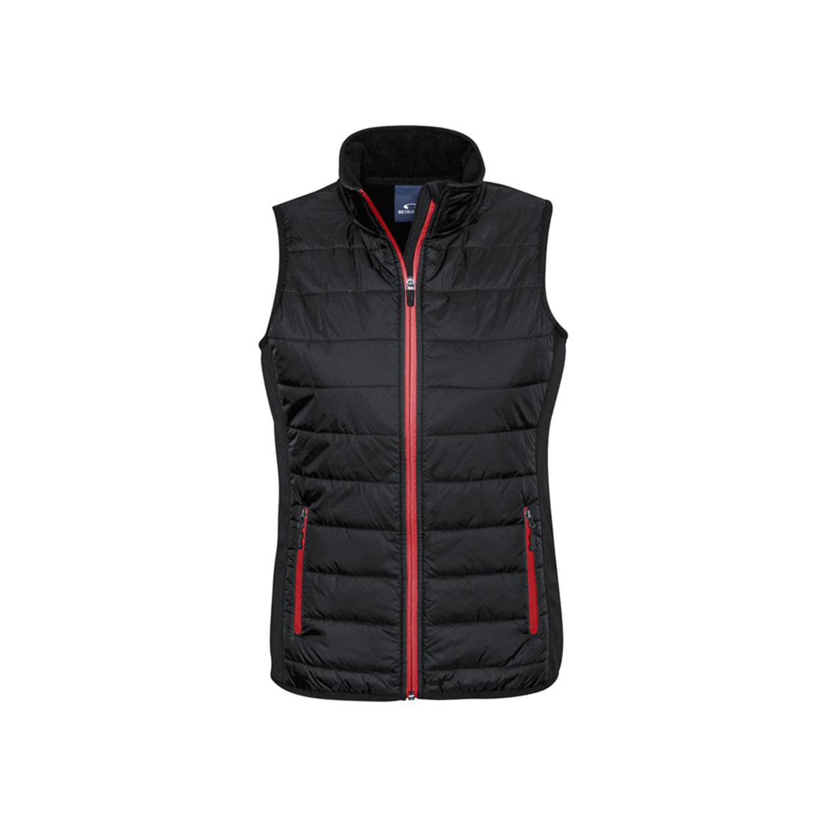 Ladies Stealth Tech Vest-Black / Red