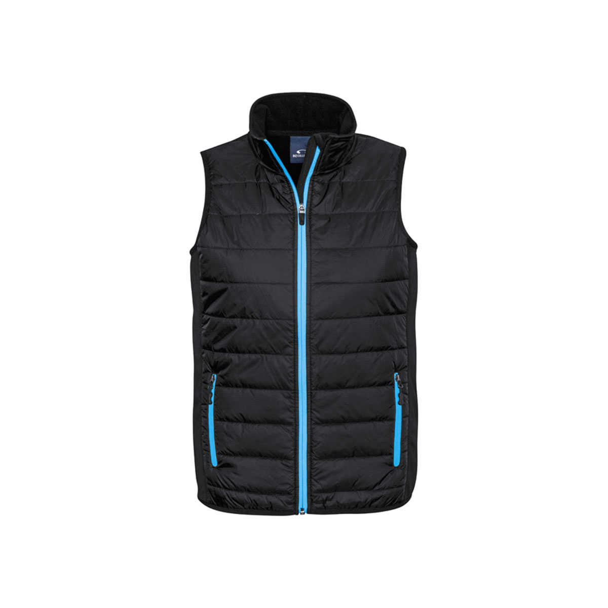 Mens Stealth Tech Vest-Black / Cyan