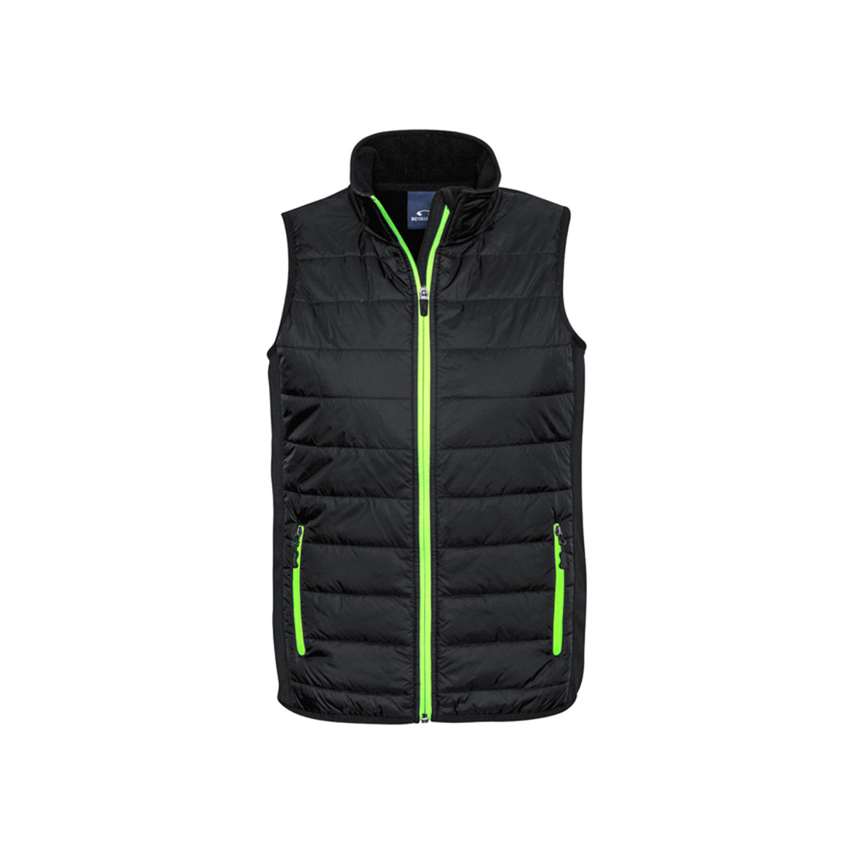 Mens Stealth Tech Vest-Black / Lime