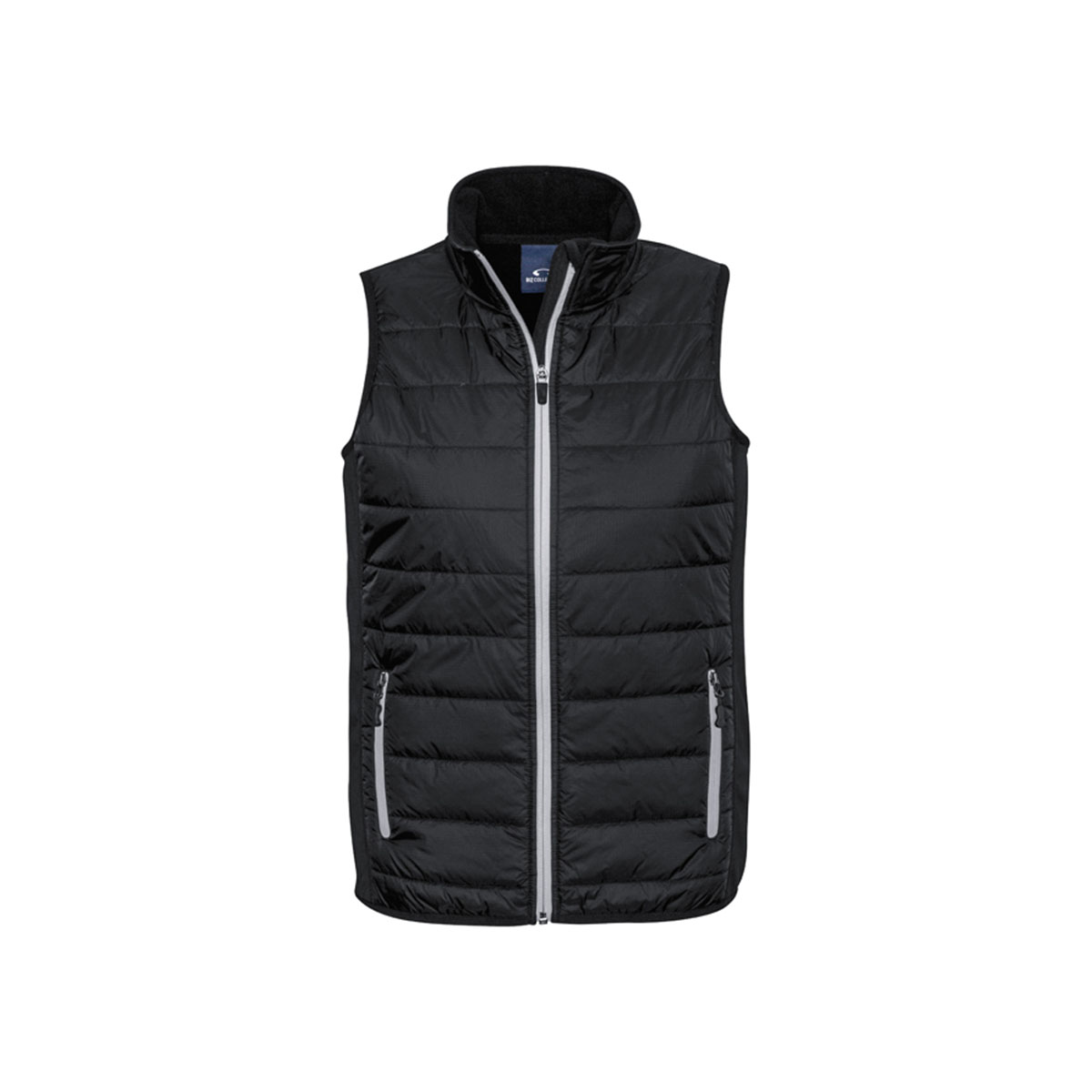 Mens Stealth Tech Vest-Black / Silver Grey