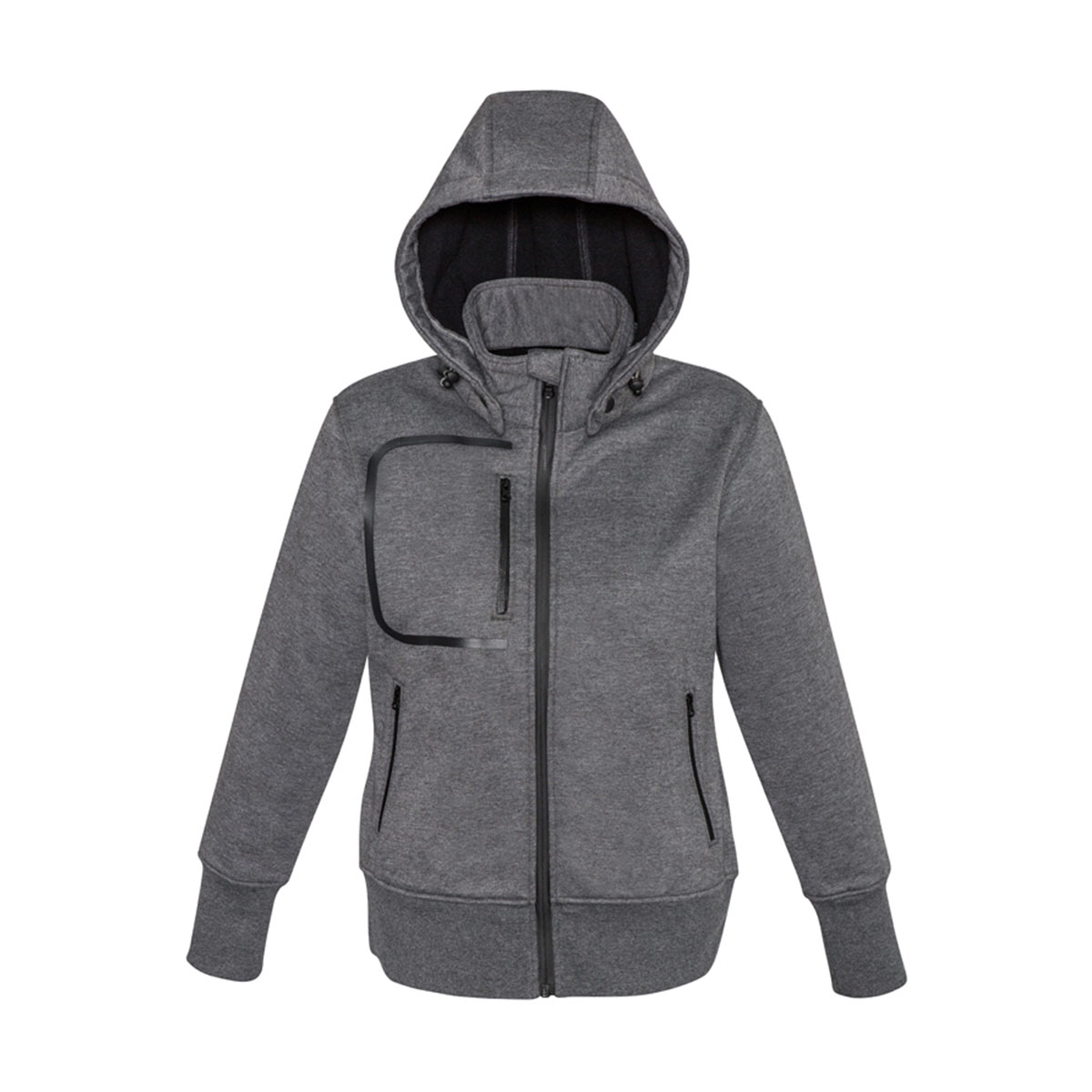 Ladies Oslo Jacket-Grey Black