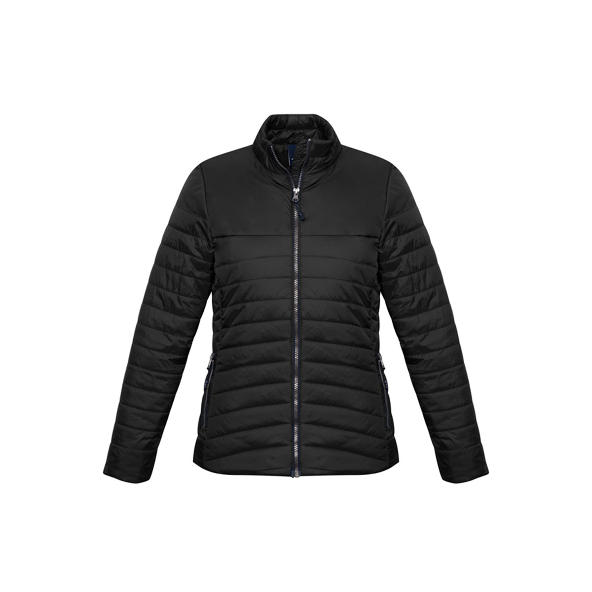 Ladies Expedition Quilted Jacket-Black