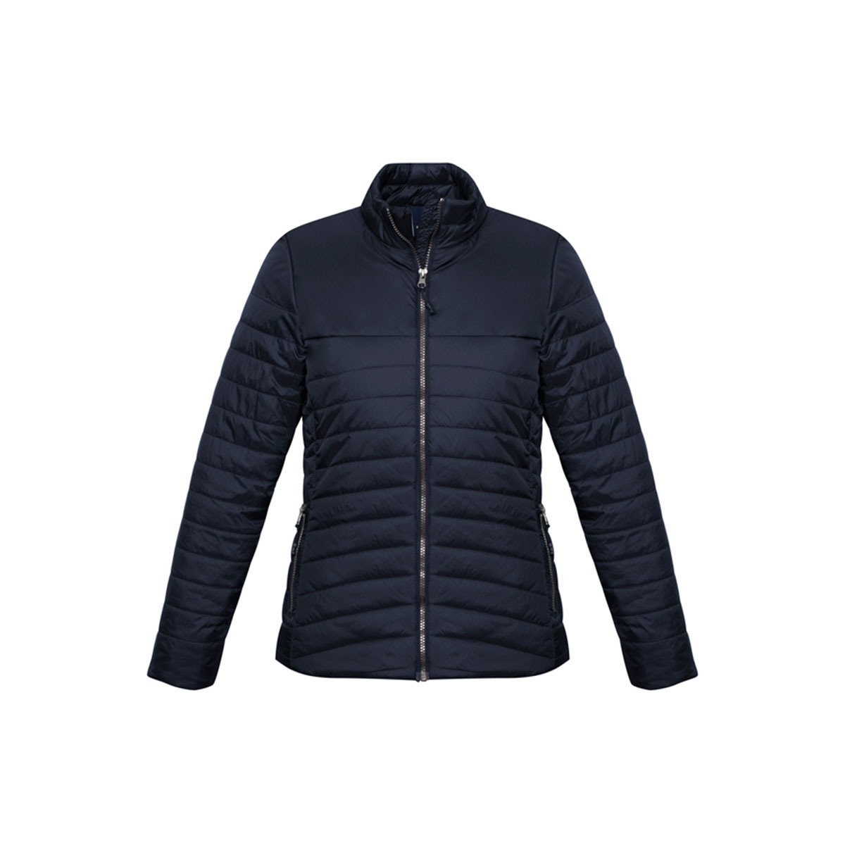 Ladies Expedition Quilted Jacket-Navy