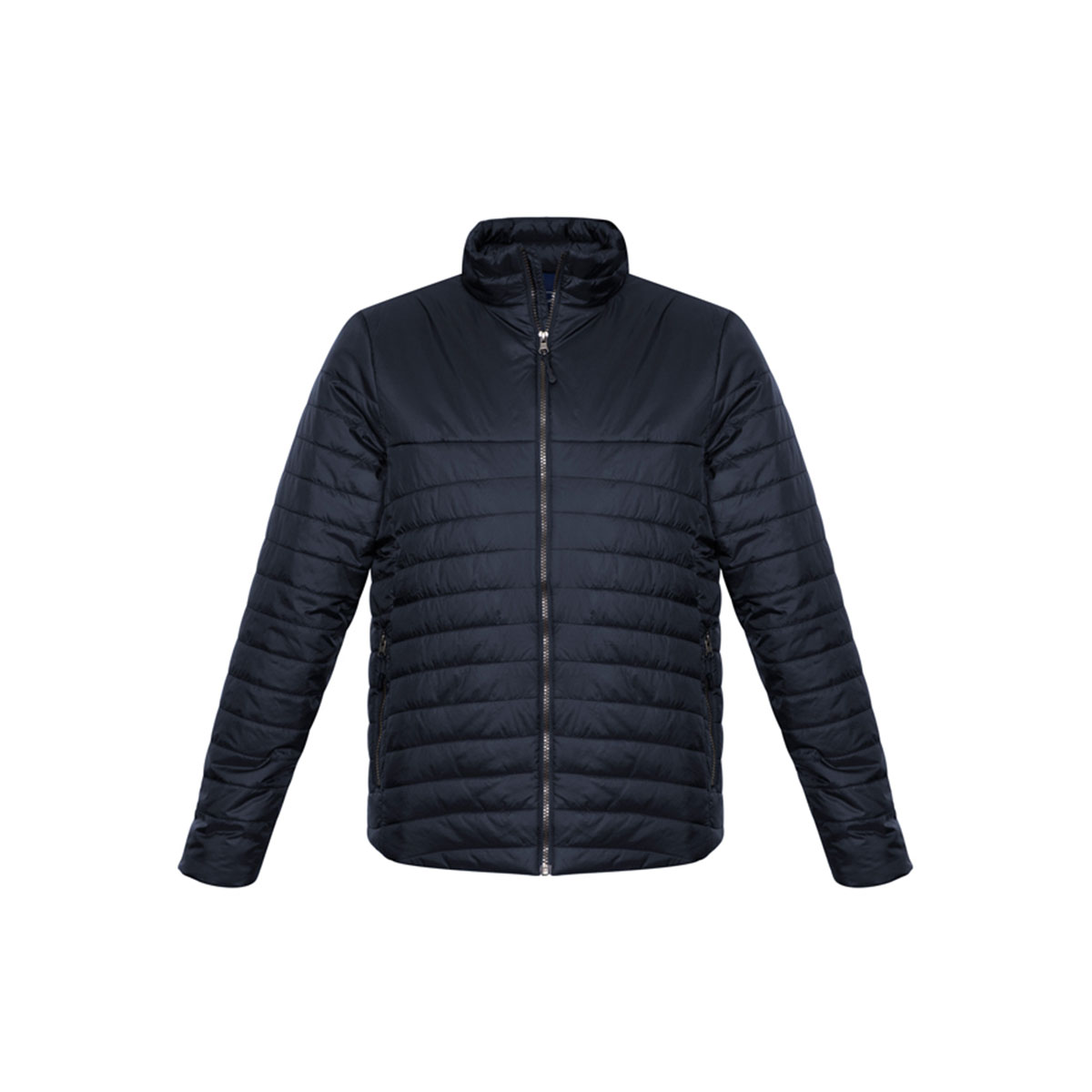 Mens Expedition Quilted Jacket-Navy
