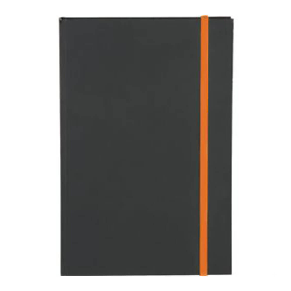 Colour Pop JournalBook-Black + Orange