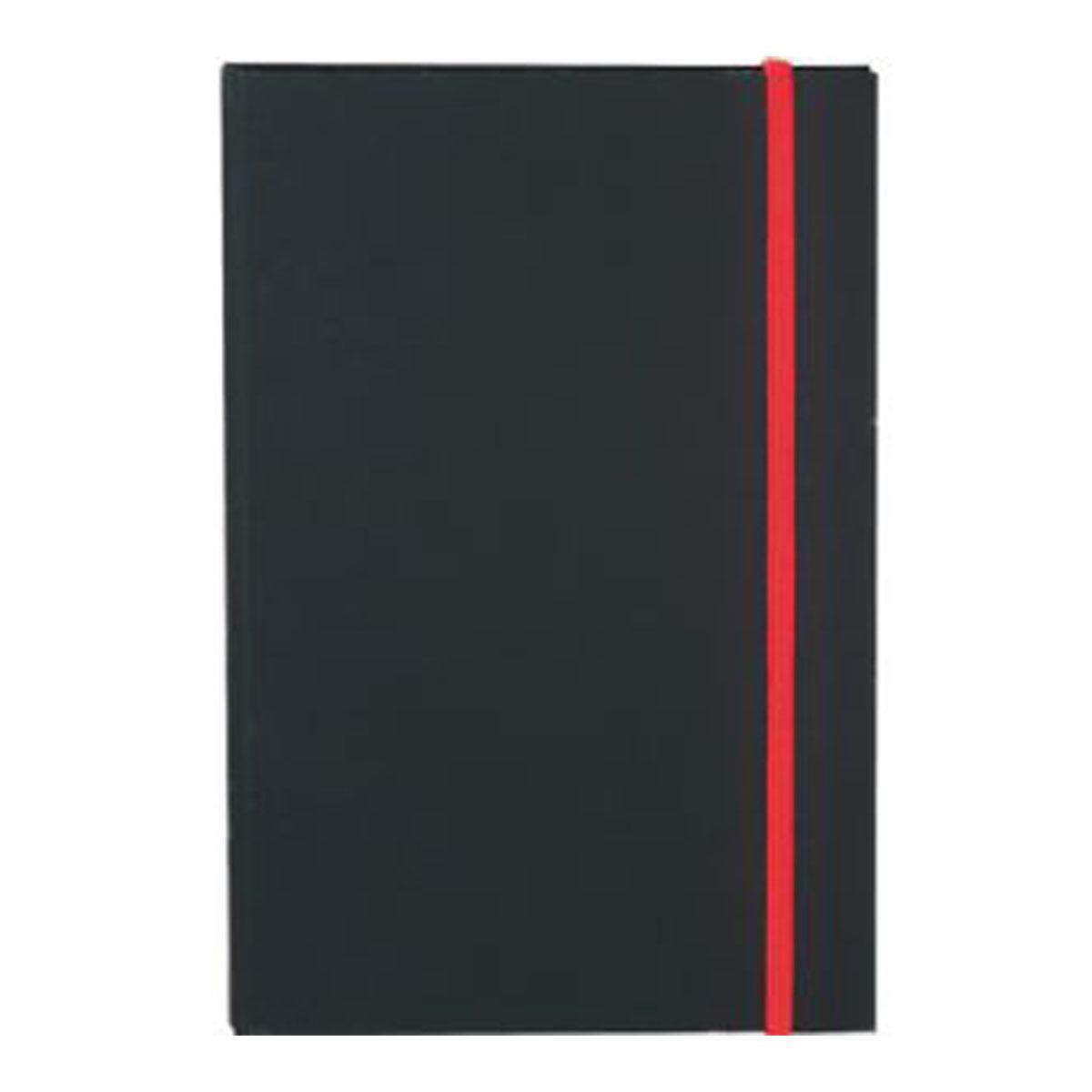 Colour Pop JournalBook-Black + Red