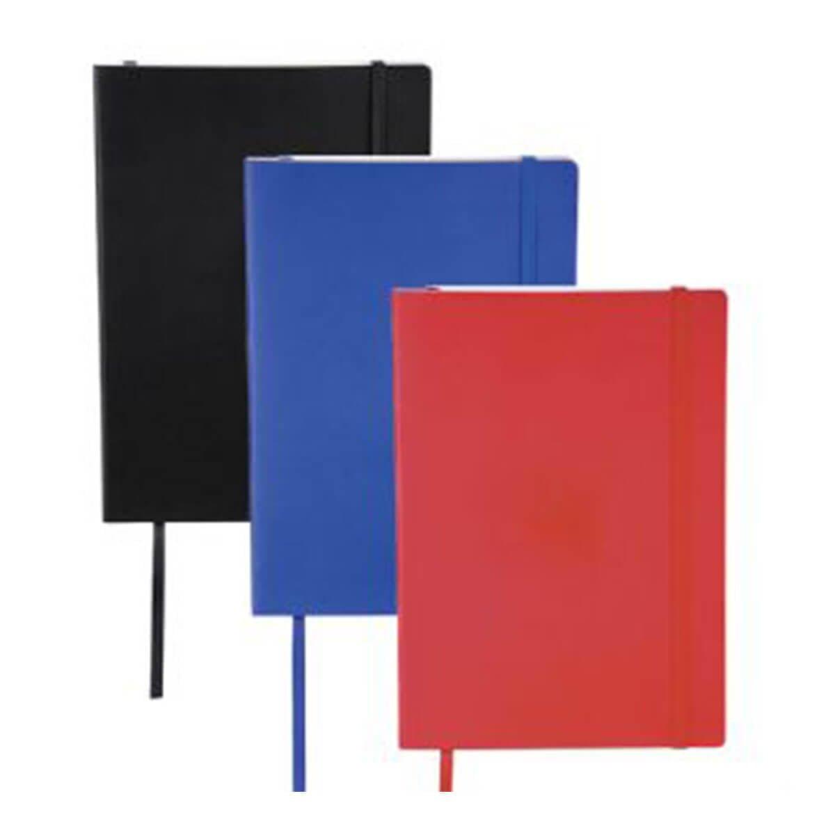 Pedova Large Ultra Soft Bound JournalBook-Black