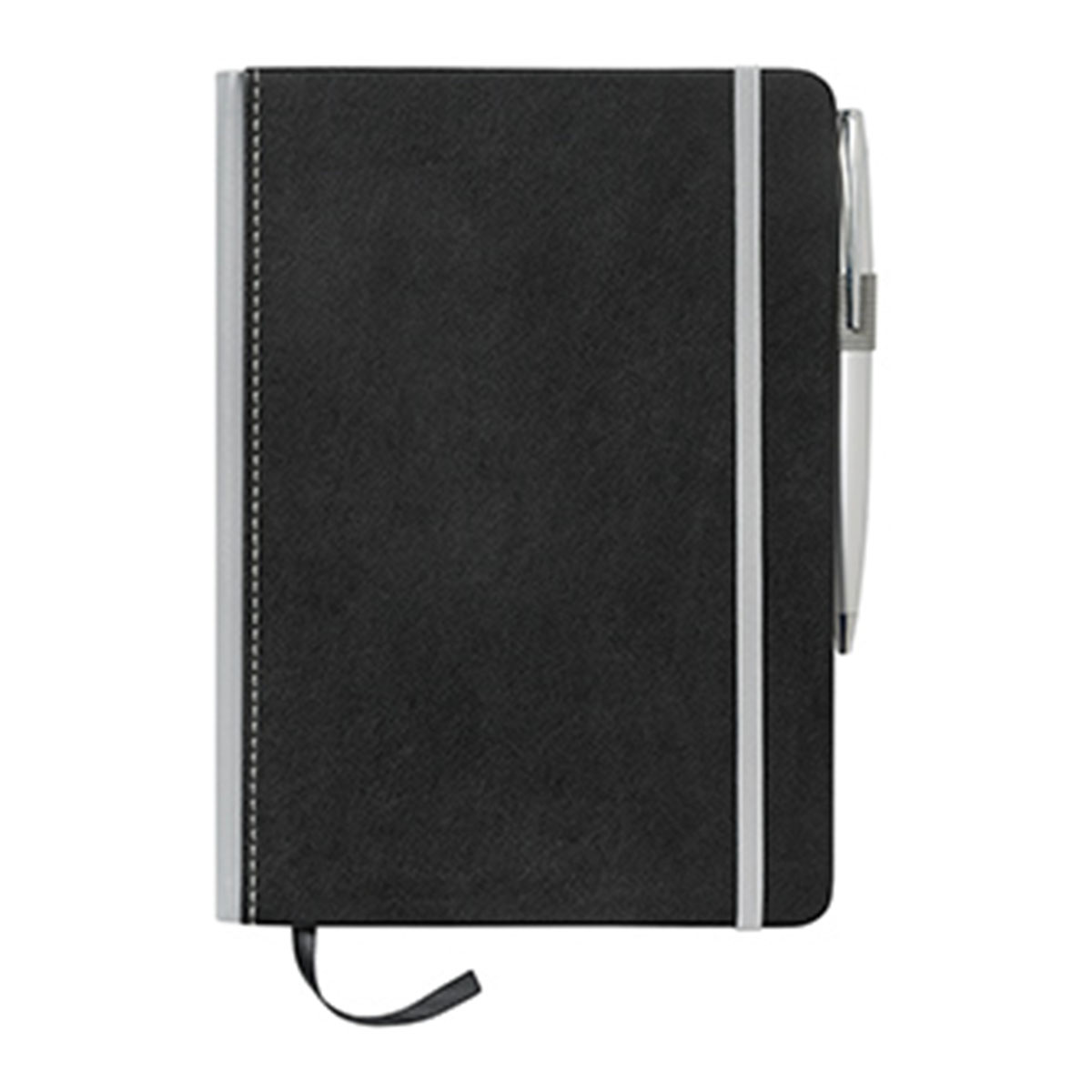 A5 Barranco JournalBook with Coloured Spine-Grey