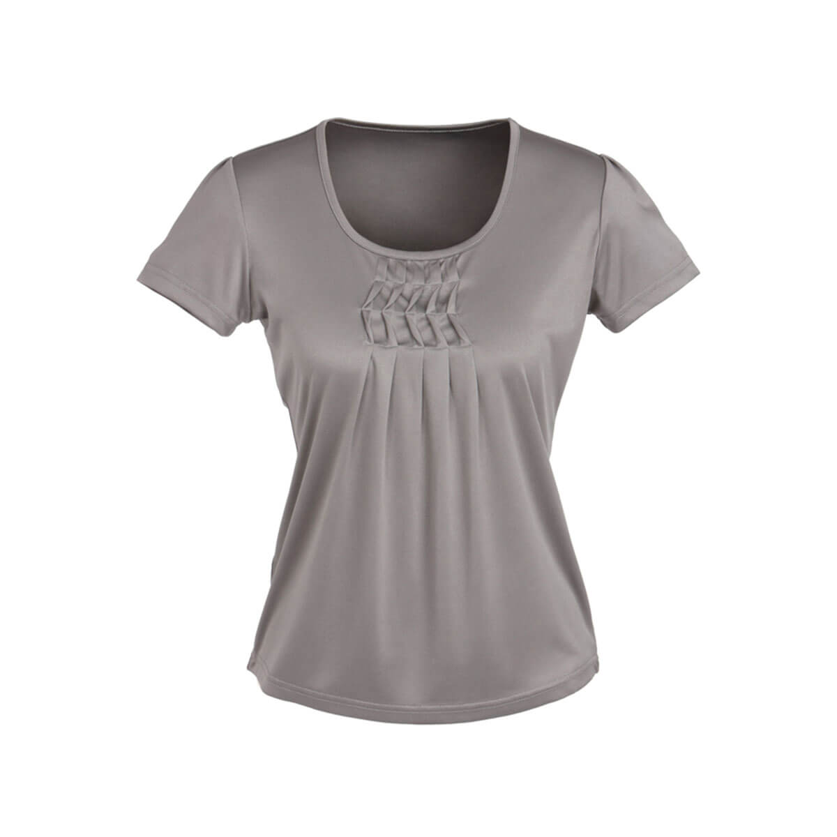 Ladies Deco Top-Silver