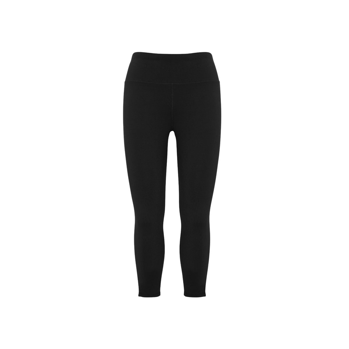 Ladies Flex 3/4 Leggings-Black
