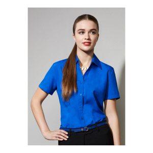 Ladies Plain Oasis Short Sleeve Shirt