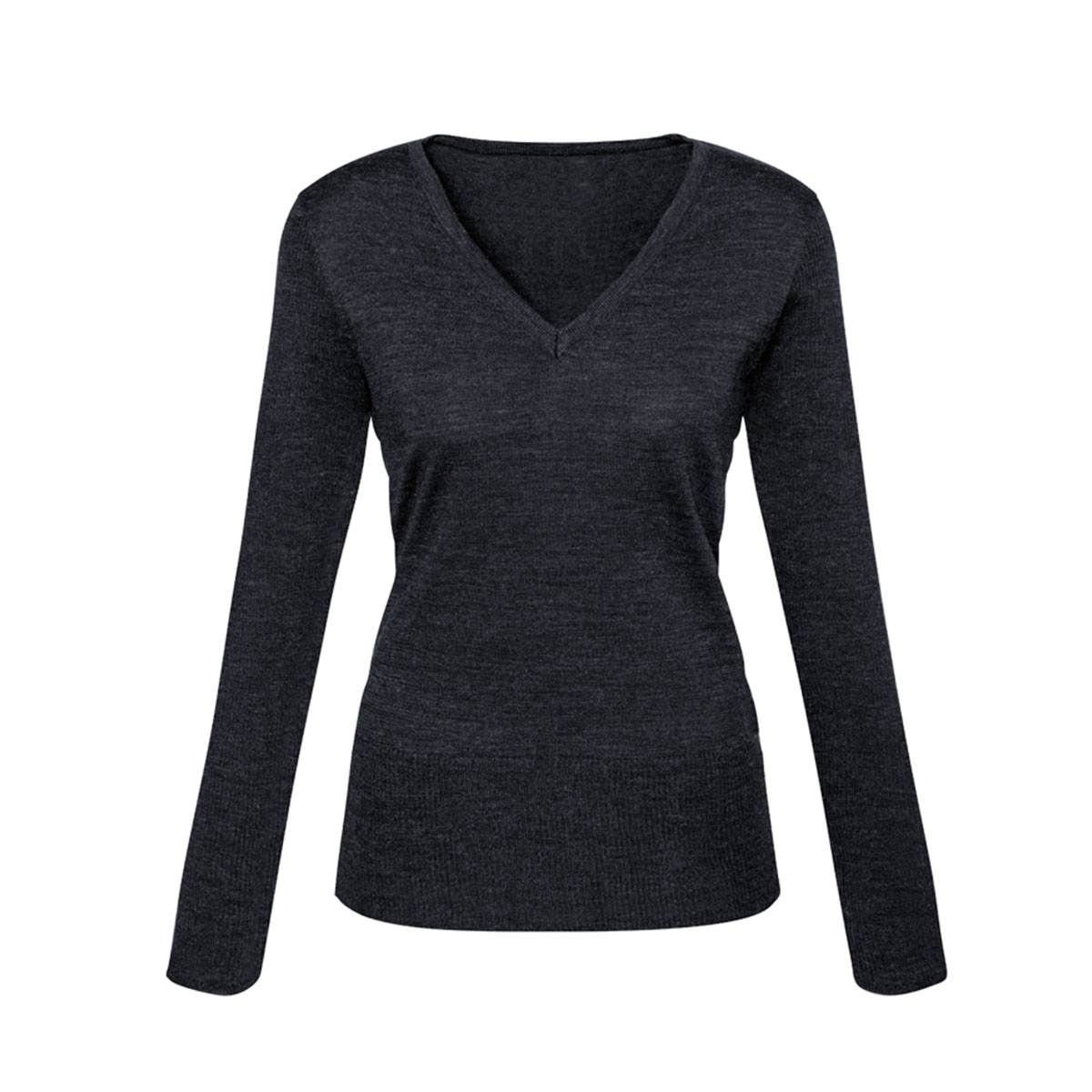 Ladies Milano Pullover-Charcoal