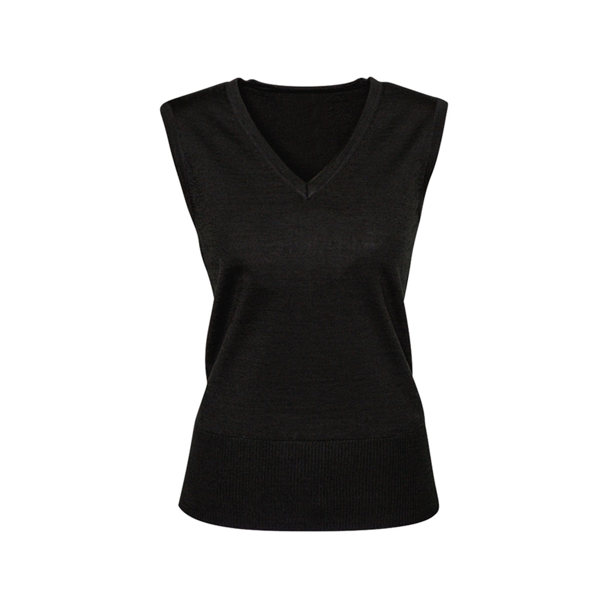 Ladies Milano Vest-Black