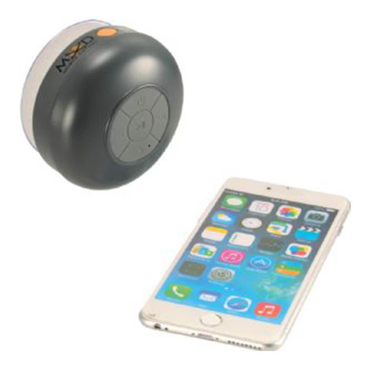Mobile Odyssey Duke Waterproof Bluetooth Speaker-Grey