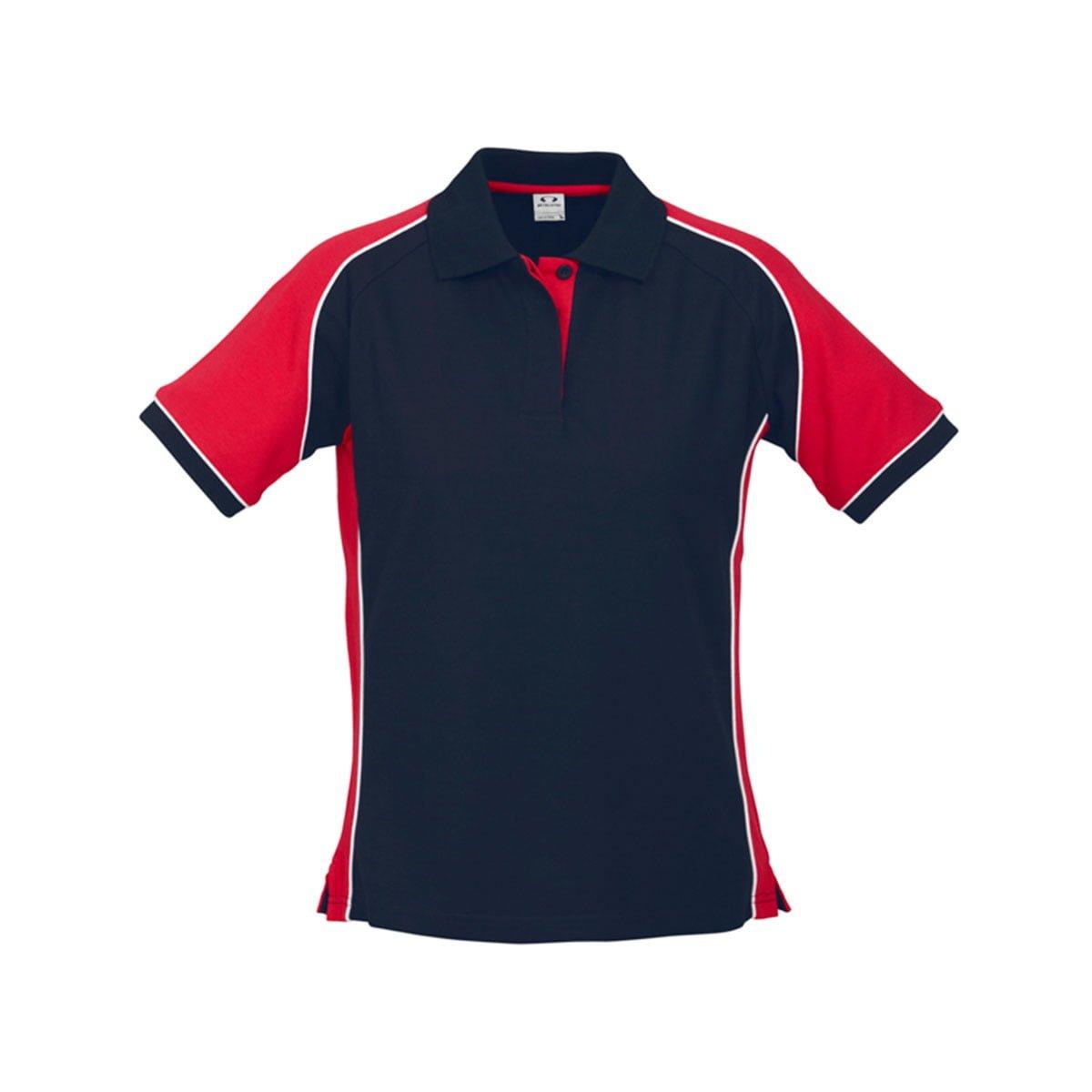 Ladies Nitro Polo-Navy / Red / White