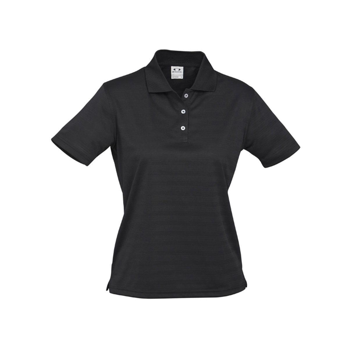 Ladies Icon Polo-Black