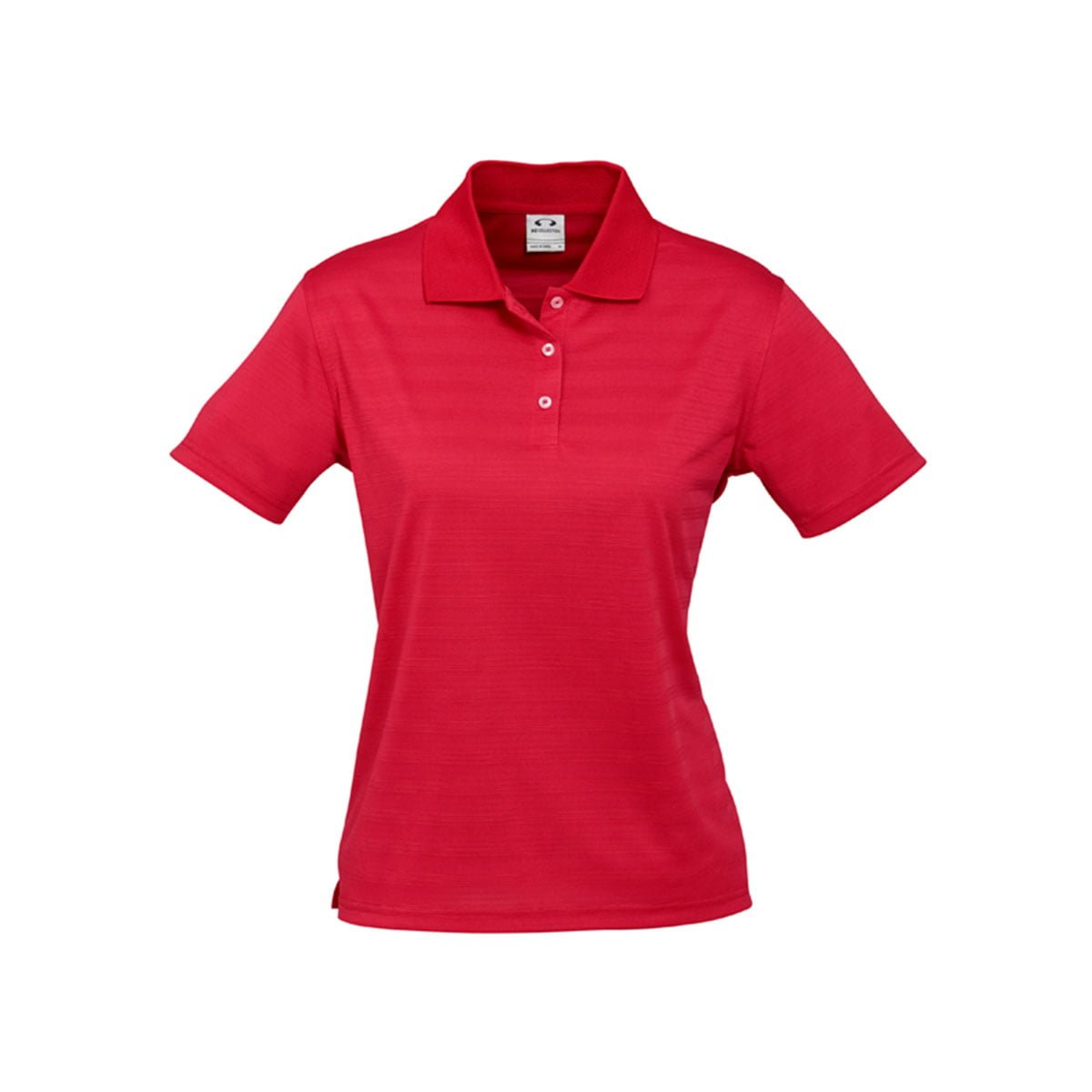 Ladies Icon Polo-Red