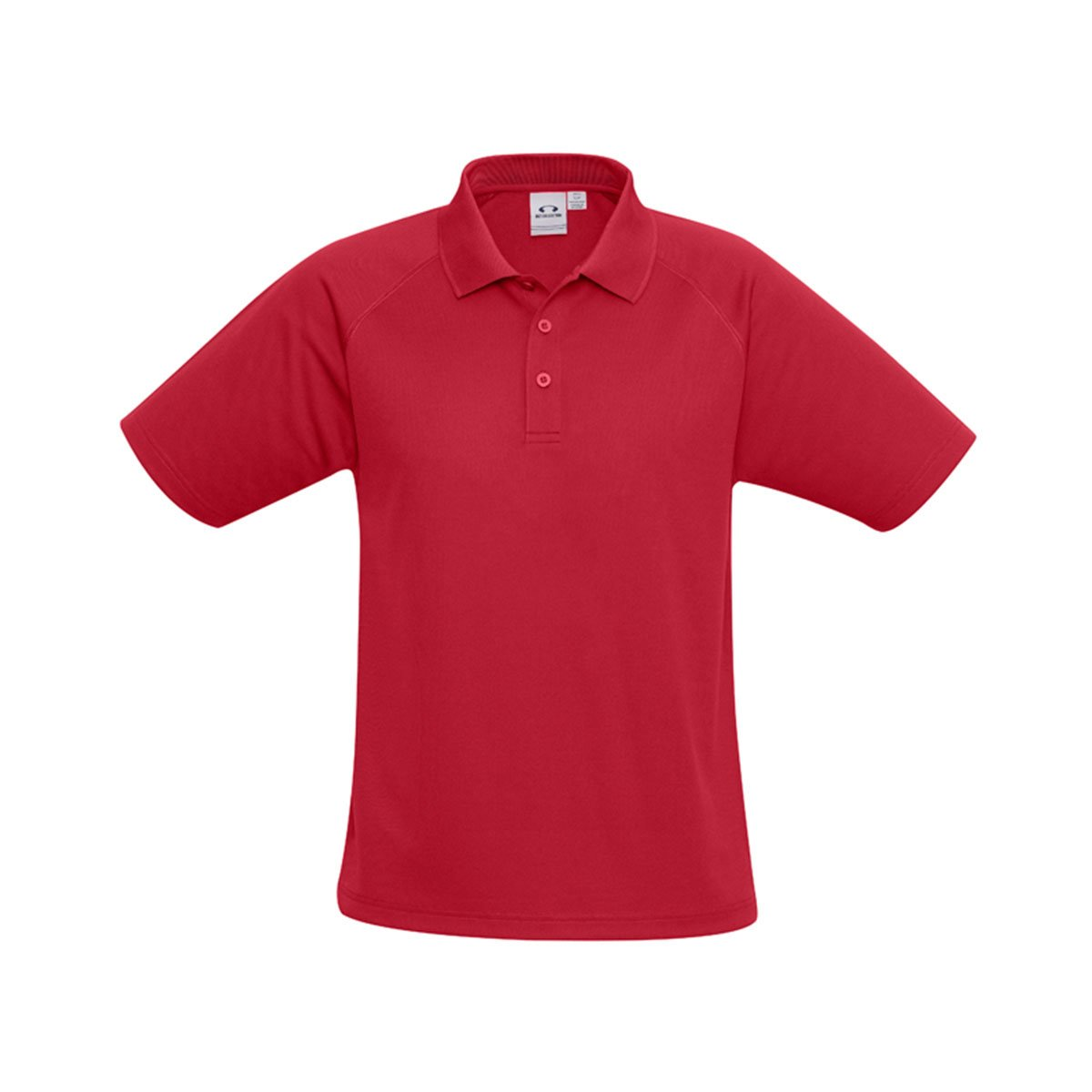 Mens Sprint Polo-Red