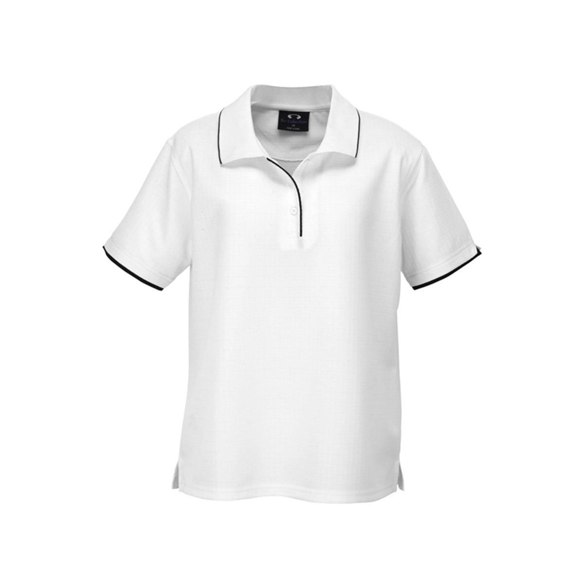 Ladies Elite Polo-White / Black