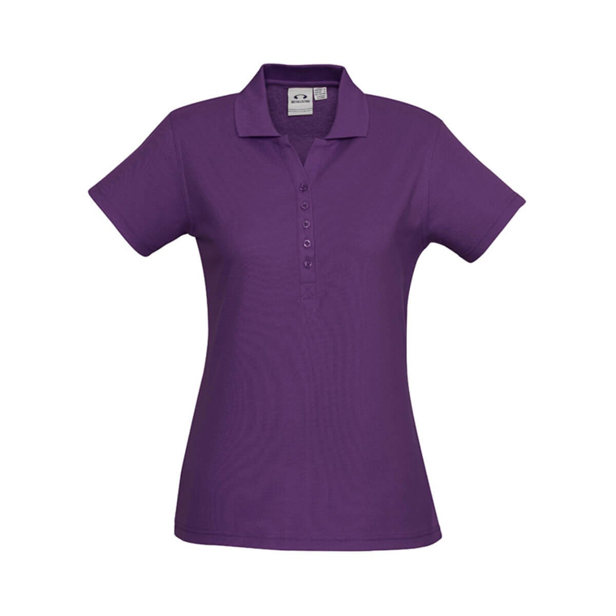 Ladies Crew Polo-Purple