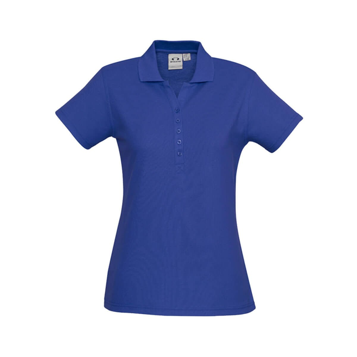 Ladies Crew Polo-Royal