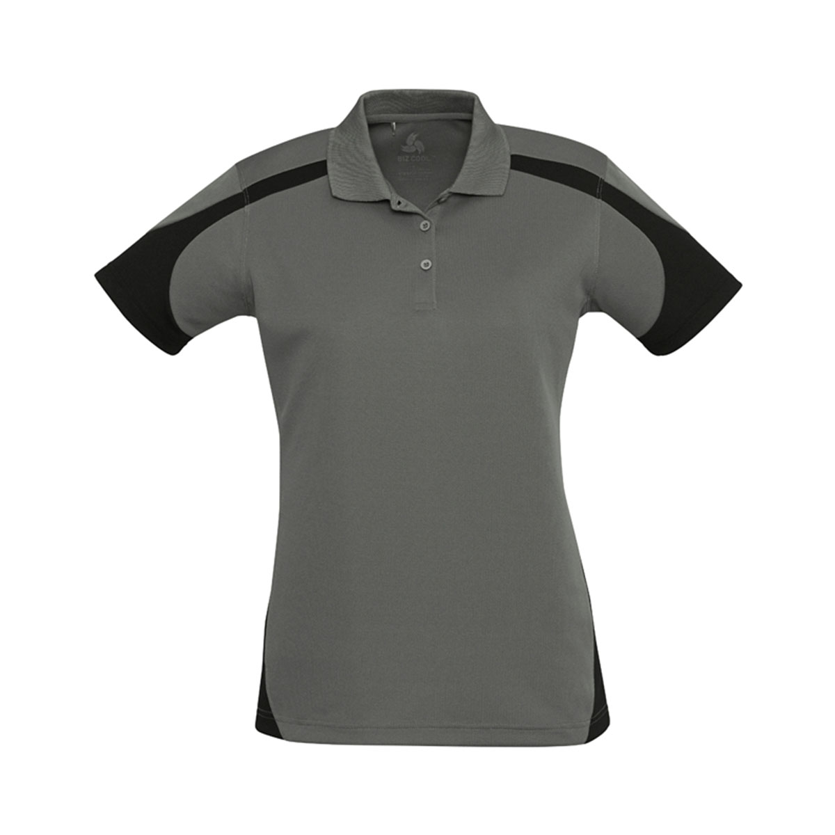 Ladies Talon Polo-Ash / Black