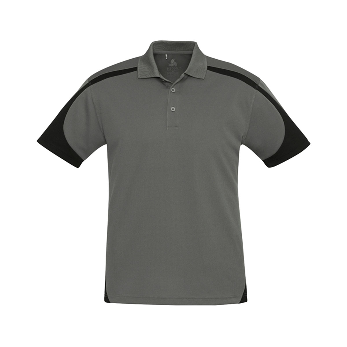 Mens Talon Polo-Ash / Black