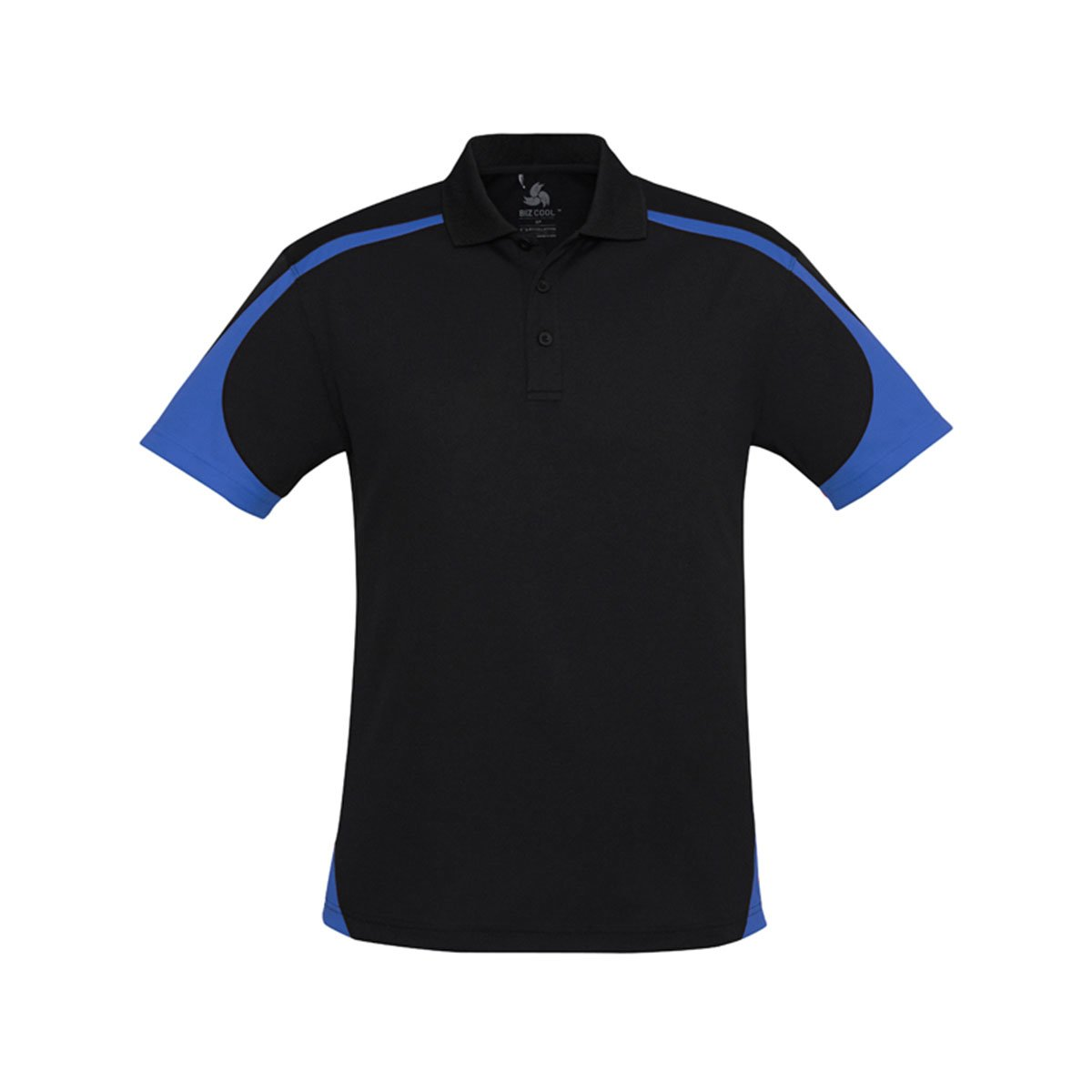 Mens Talon Polo-Black / Royal