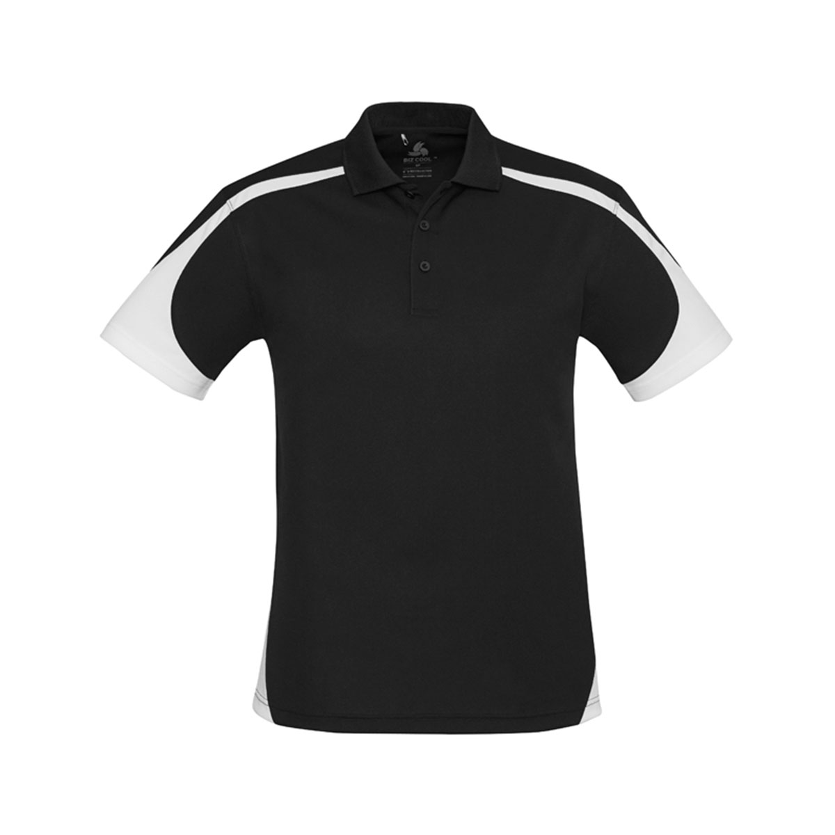 Mens Talon Polo-Black / White