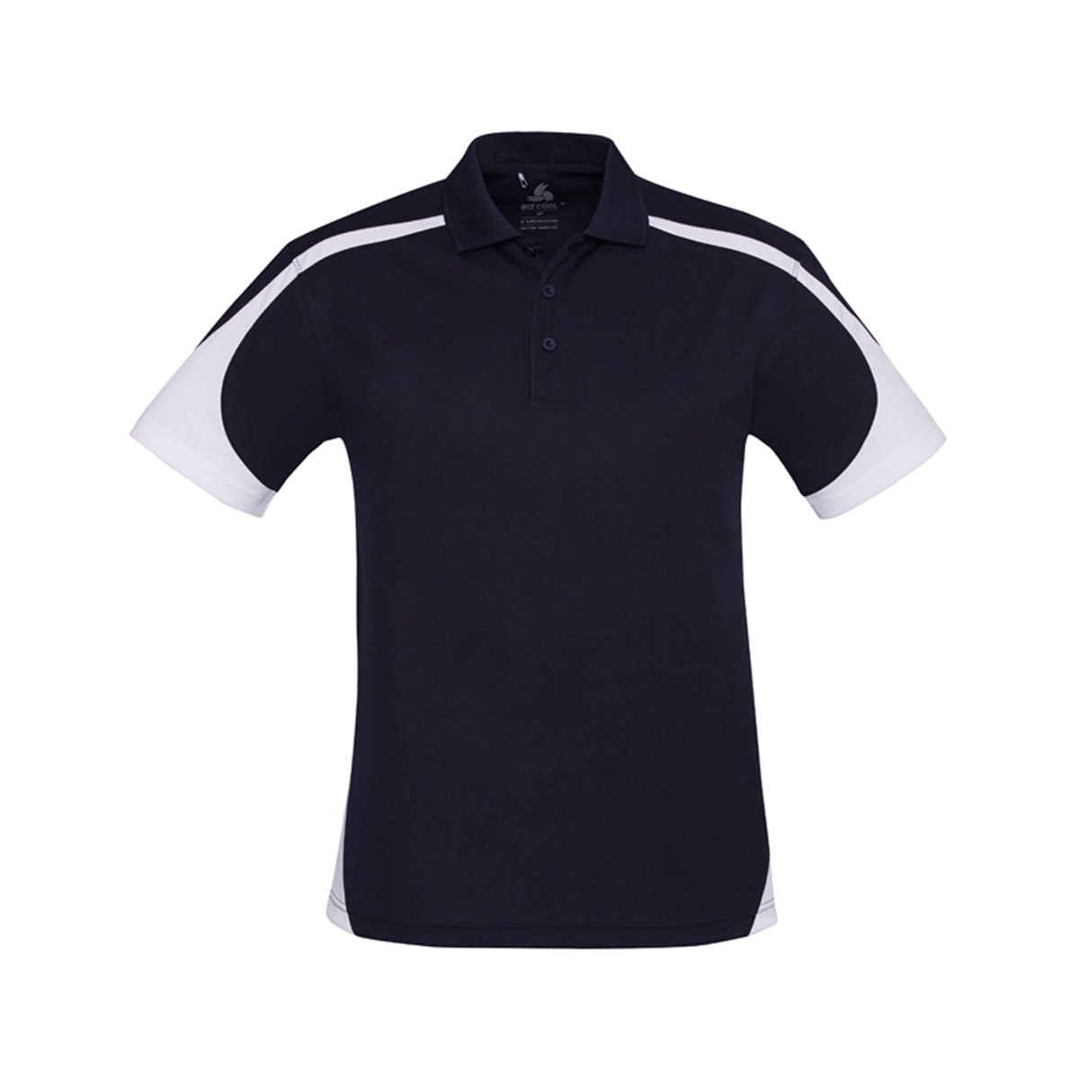 Mens Talon Polo-Navy / White
