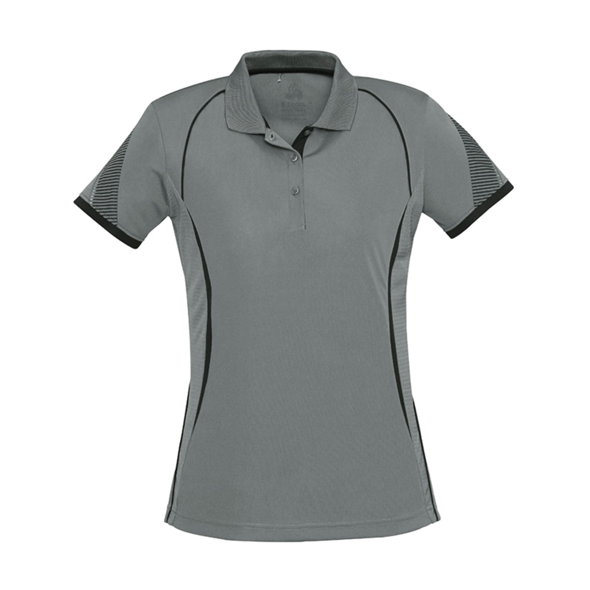 Ladies Razor Polo-Ash / Black