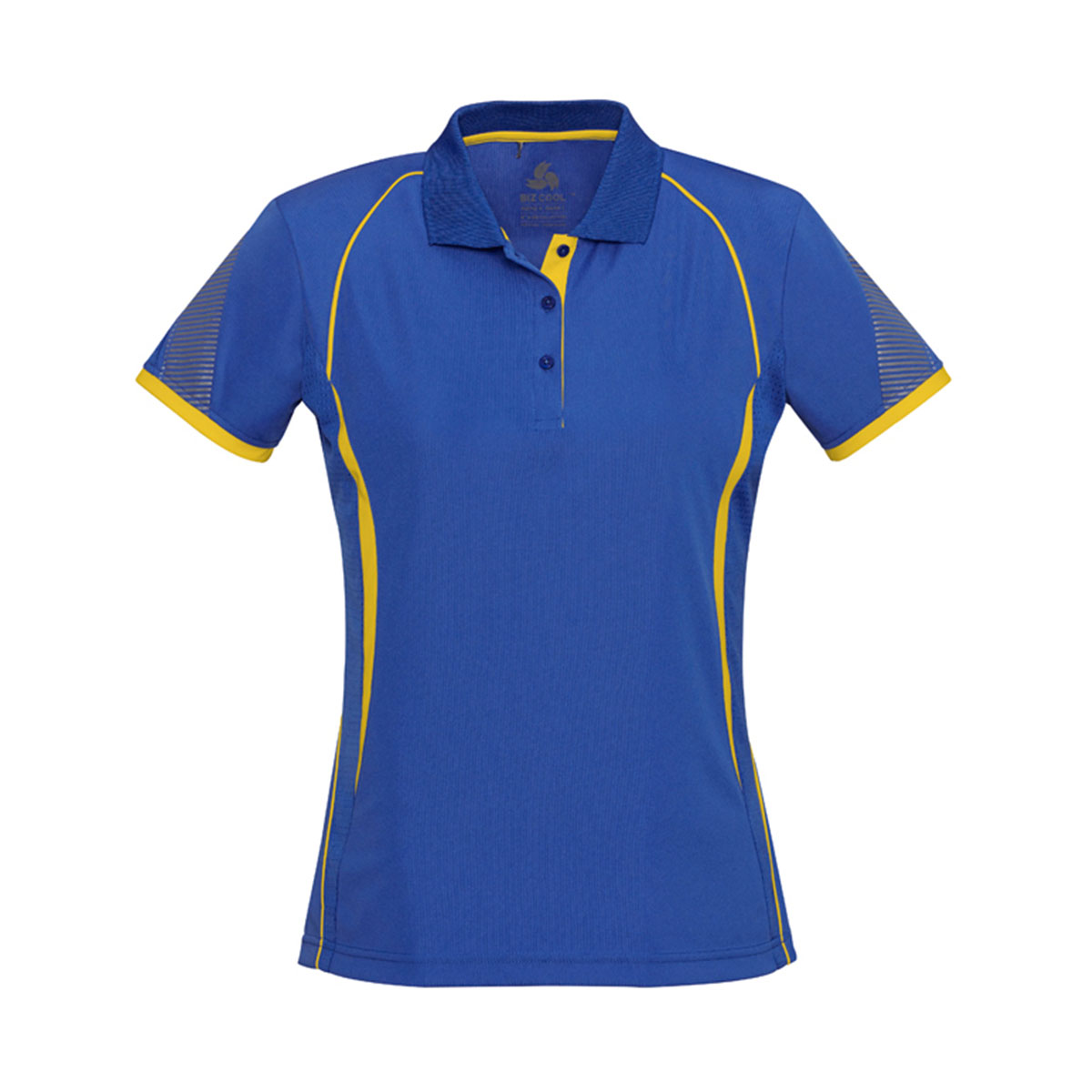 Ladies Razor Polo-Royal / Gold