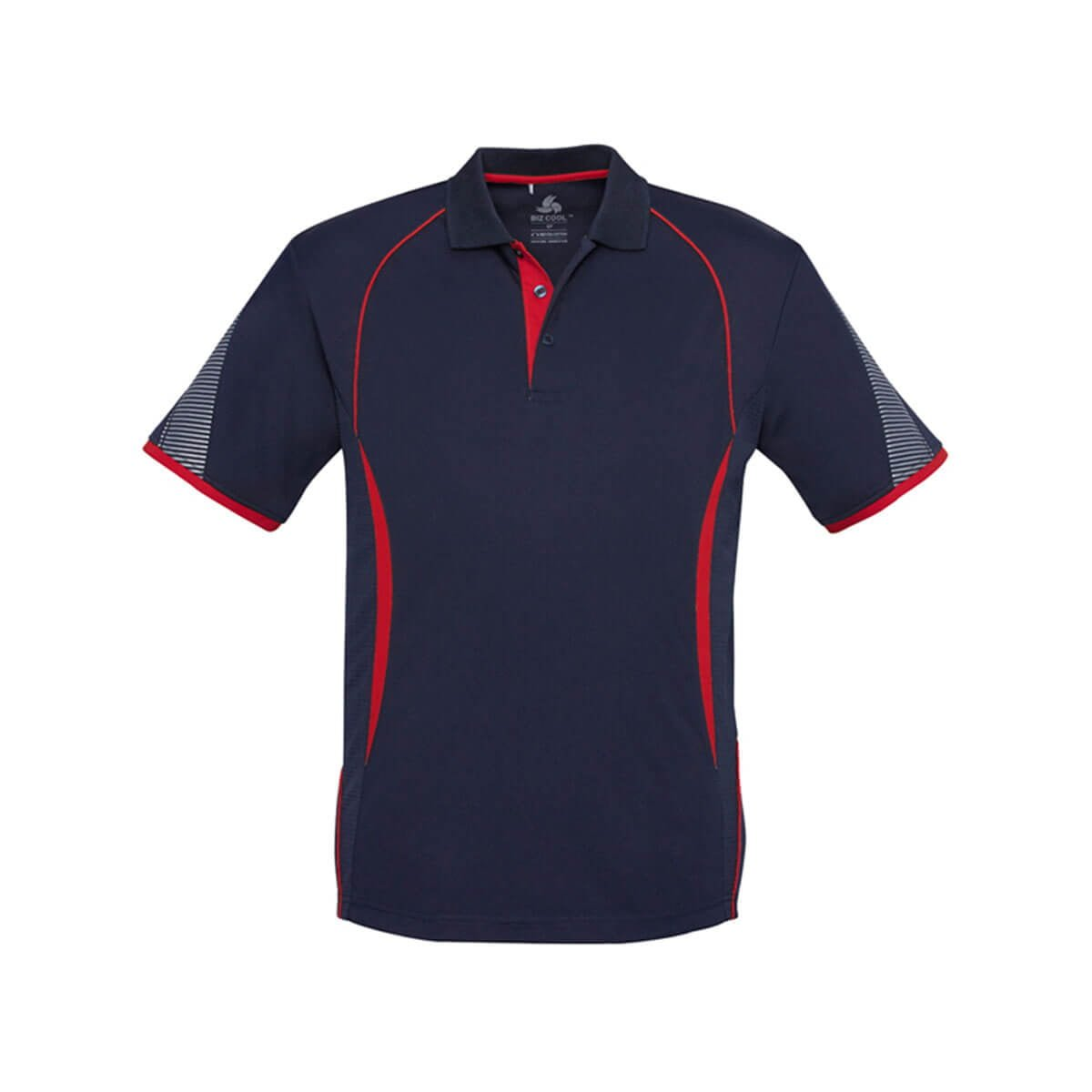 Kids Razor Polo-Navy / Red