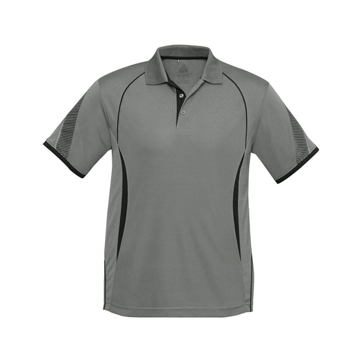 Mens Razor Polo-Ash / Black