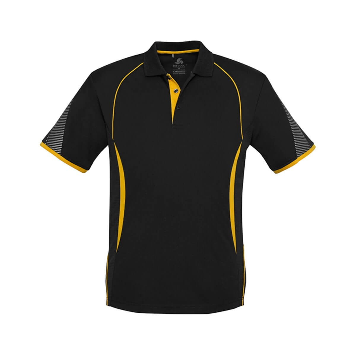 Kids Razor Polo-Black / Gold