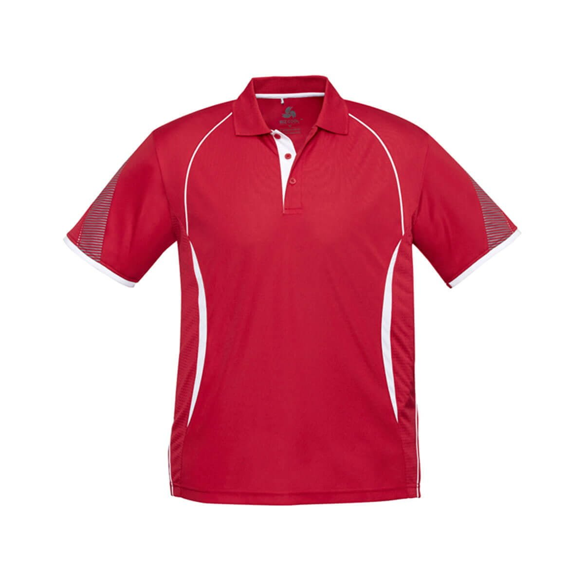 Kids Razor Polo-Red / White