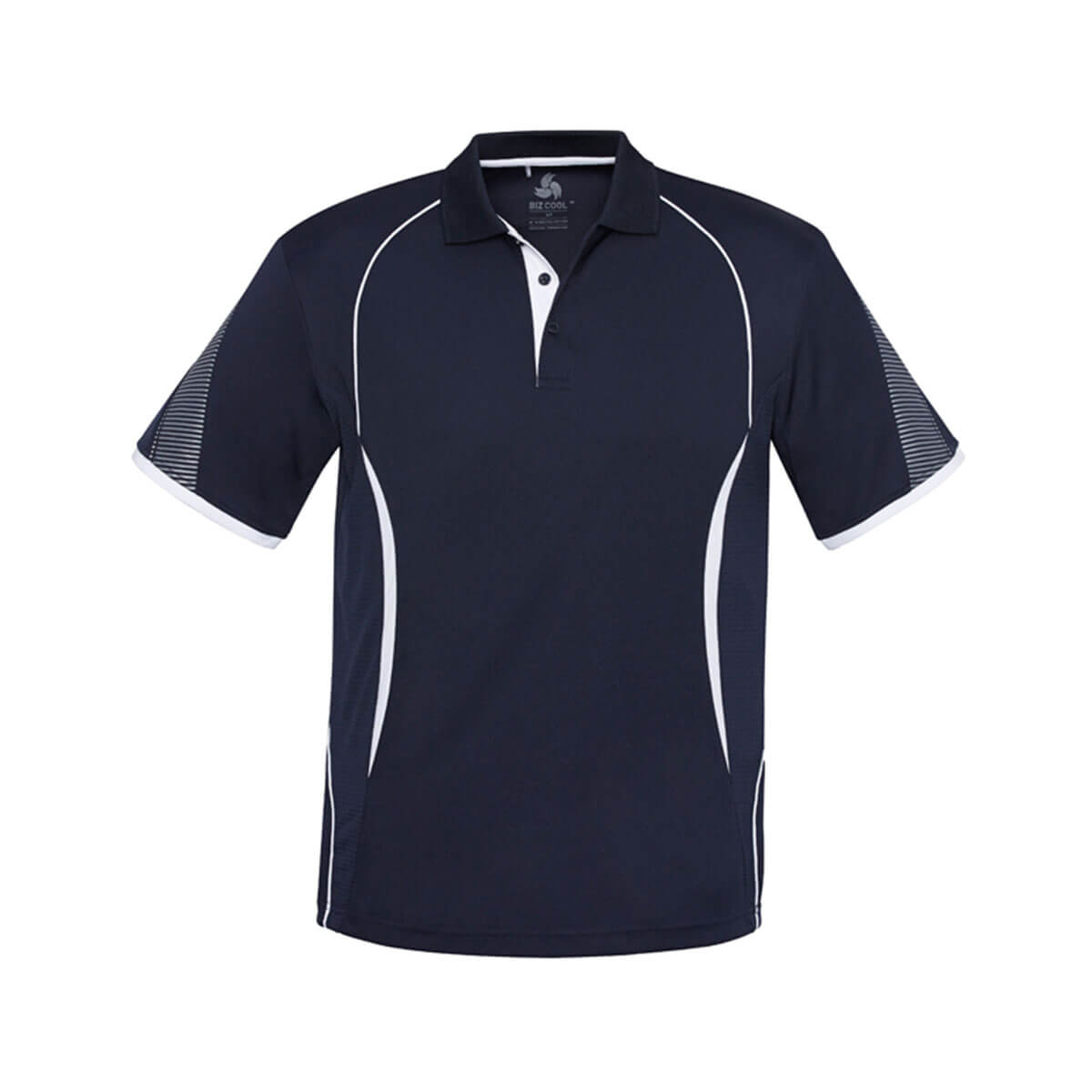 Kids Razor Polo-Navy / White