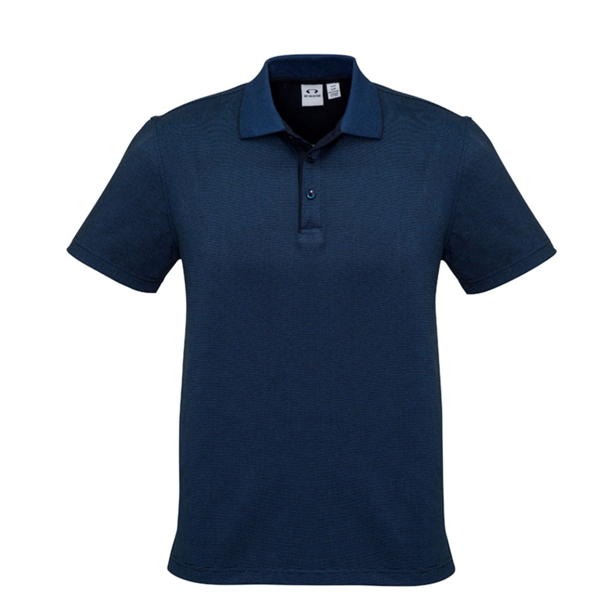 Mens Shadow Polo-Carbon Blue