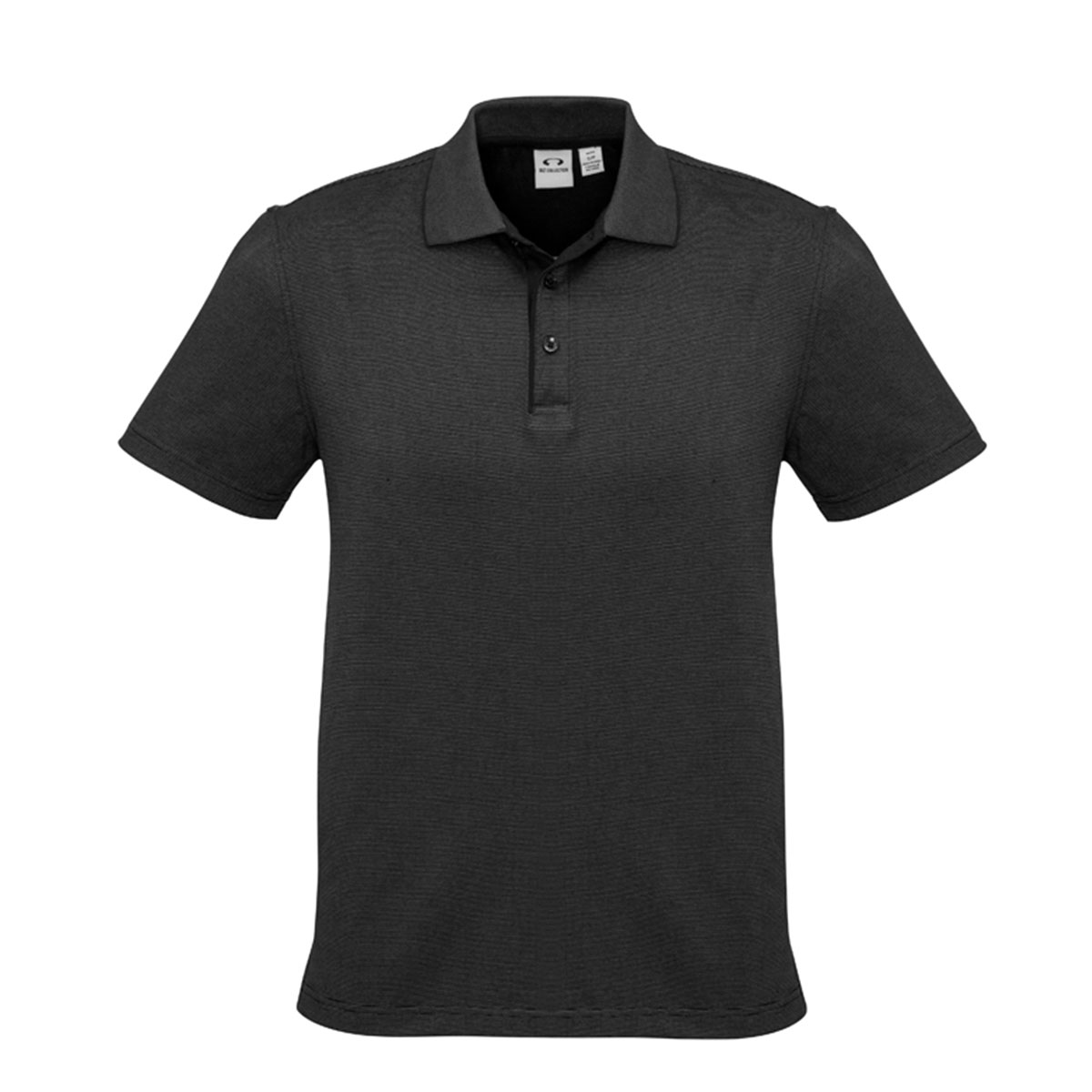 Mens Shadow Polo-Graphite Black