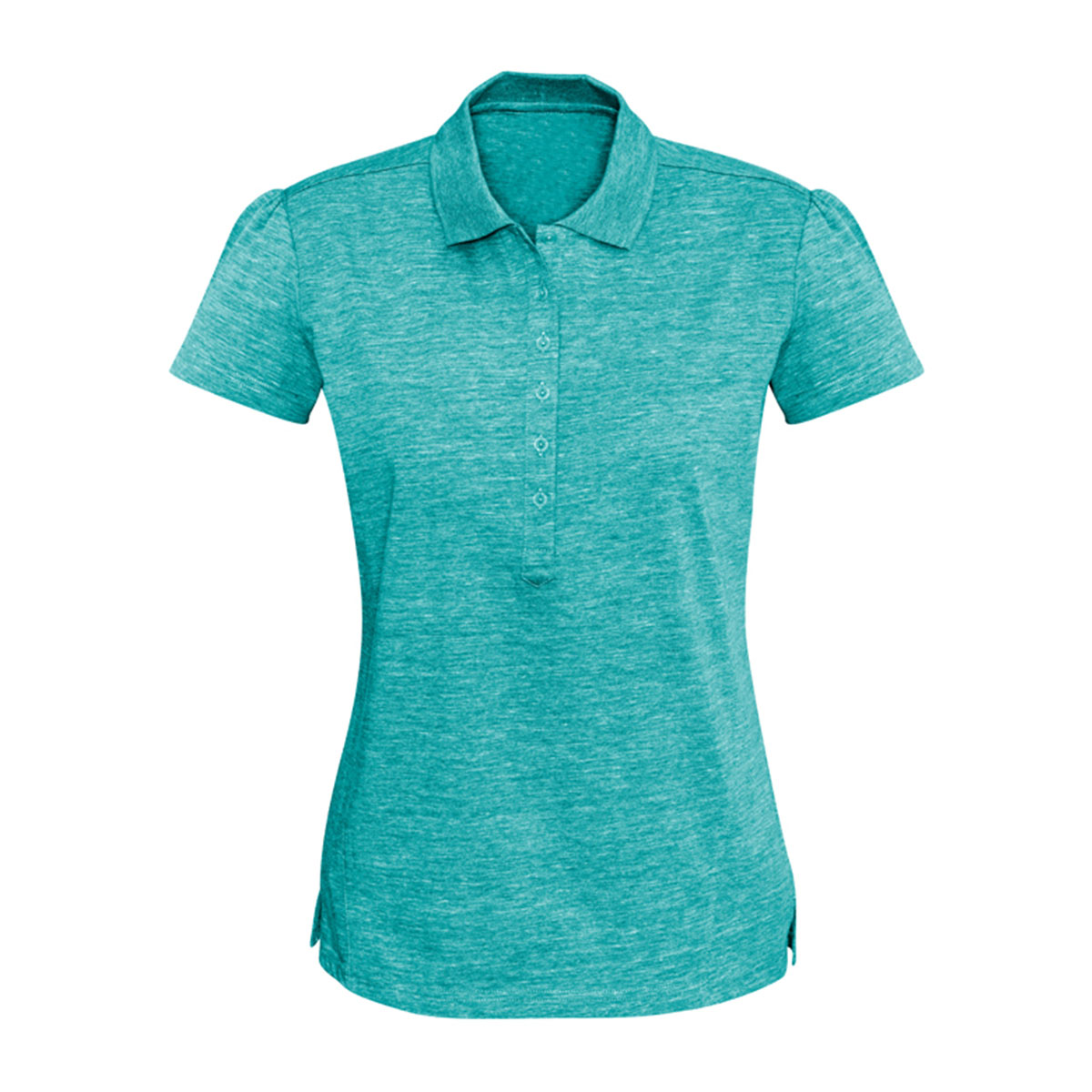 Ladies Coast Polo-Turquoise Blue