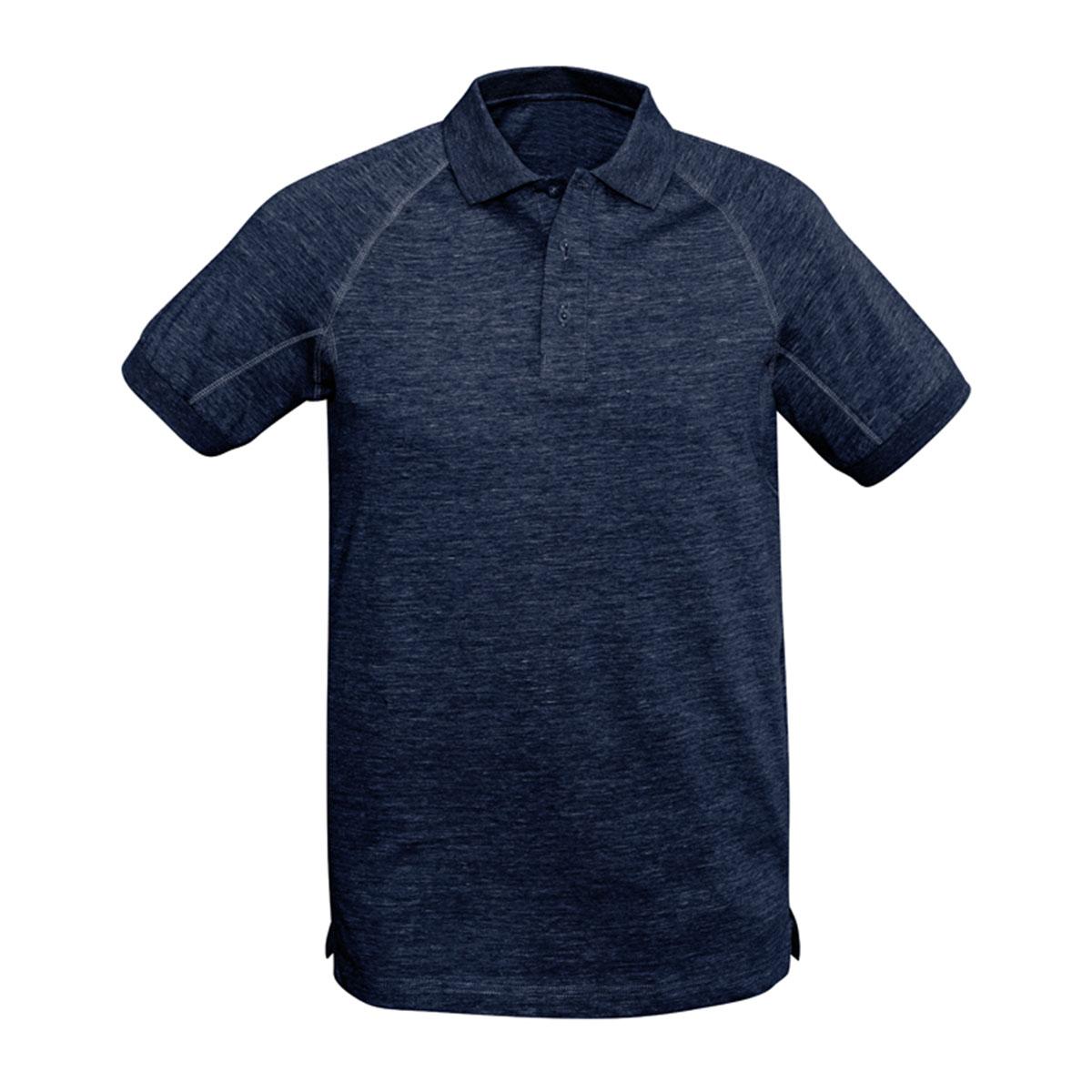 Mens Coast Polo-Midnight Blue