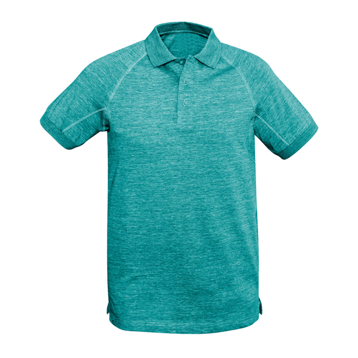Mens Coast Polo-Turquoise Blue
