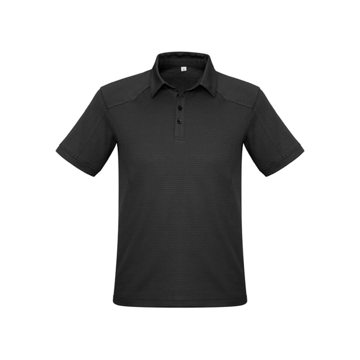 Mens Profile Polo-Black