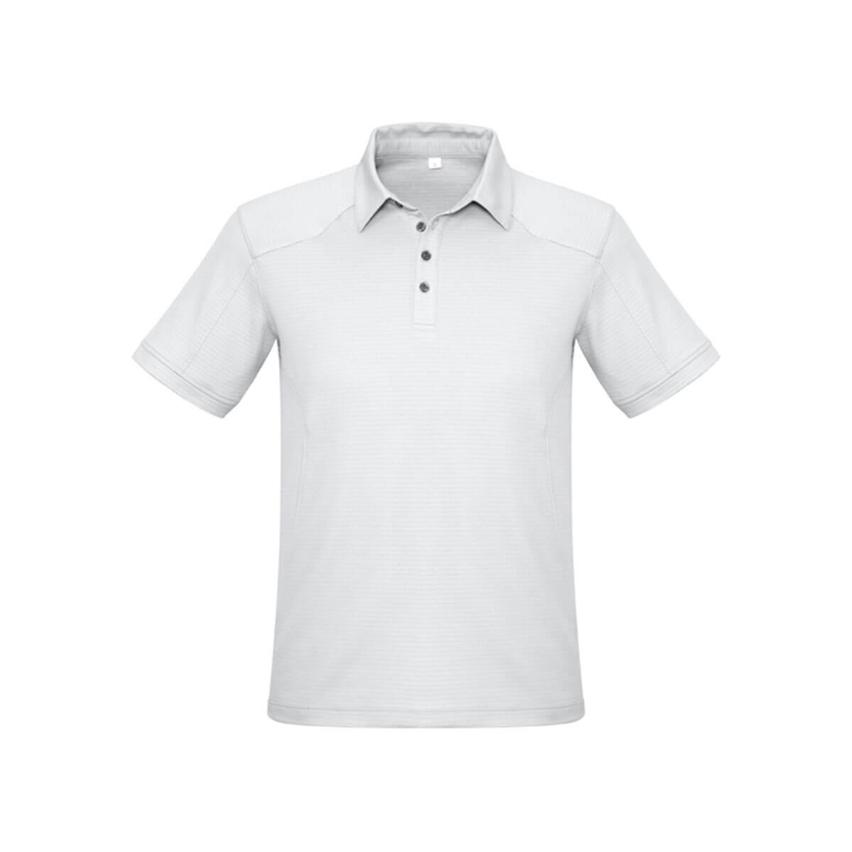 Mens Profile Polo-White
