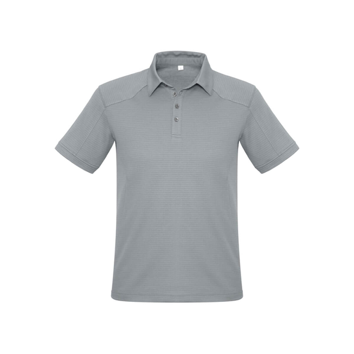 Mens Profile Polo-Silver